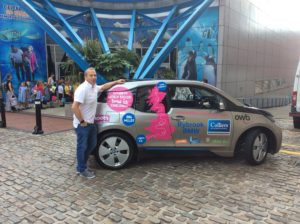 Nigel Freeman BMWi3 Record