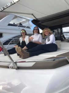 Posing on a Princess Yacht