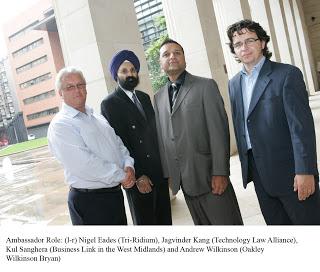 Top five entrepreneurs act as ambassadors for West Midlands