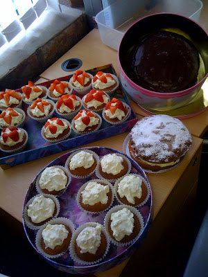 Macmillan….not much coffee, much more cake!