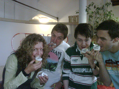 We love the cake….