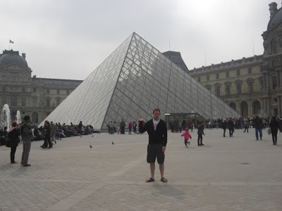 Norms Big Weekend in Paris…he did take the missus really