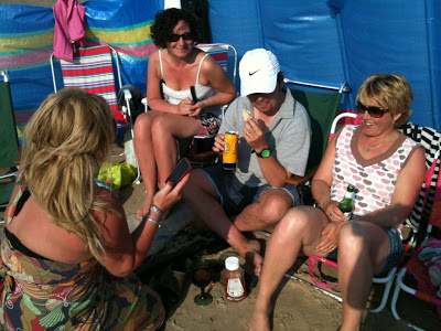 Social Media takes to the Sand….