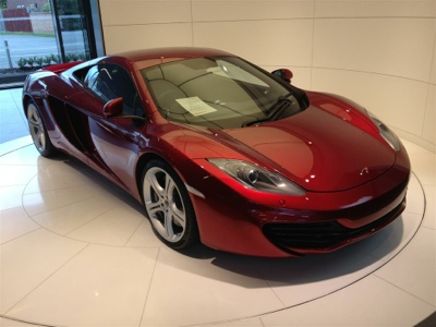 McLaren test drive…enough said