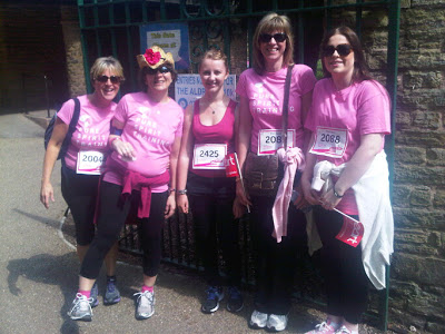 Great Great Work from Issy at the Race 4 Life raising over £250