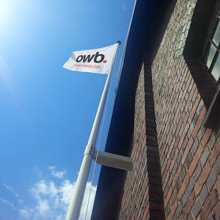 Flying the Flag for an outstanding team at OWB