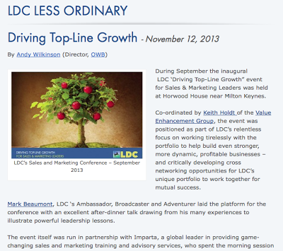 Outstanding LDC Event on Driving Top-Line Growth