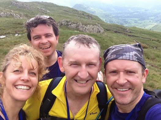 Selfie sums up The Cumbrian Challenge