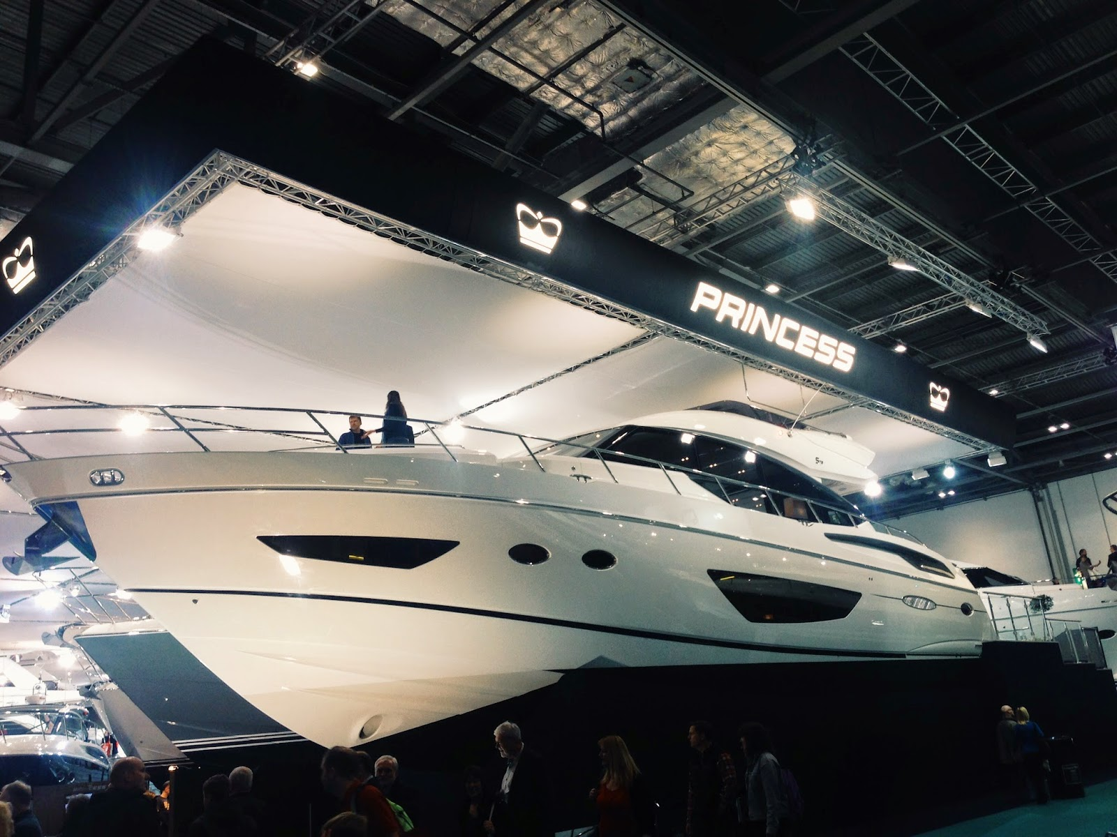 Great start of the Year with Princess at The London Boat Show