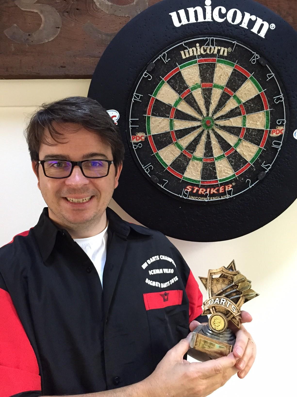 Iceman Wilkinson sends big freeze over Digbeth Darts Championship