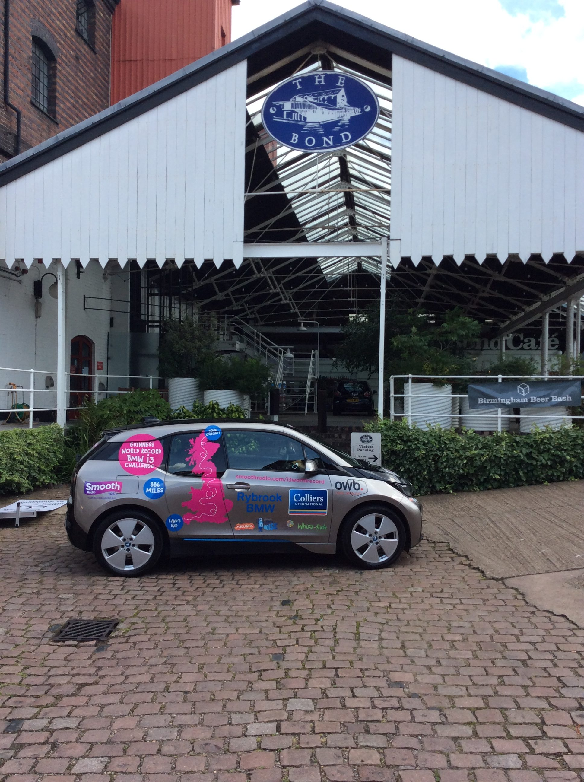 OWB is proud to support BMW i3 World Record