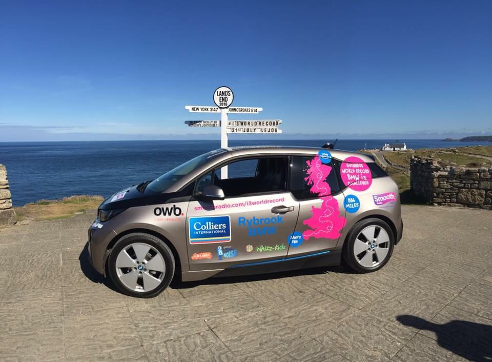 From Land's End to John O Groats and a Guinness world record later