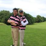 OWB get into the swing of things at NICE charity golf day