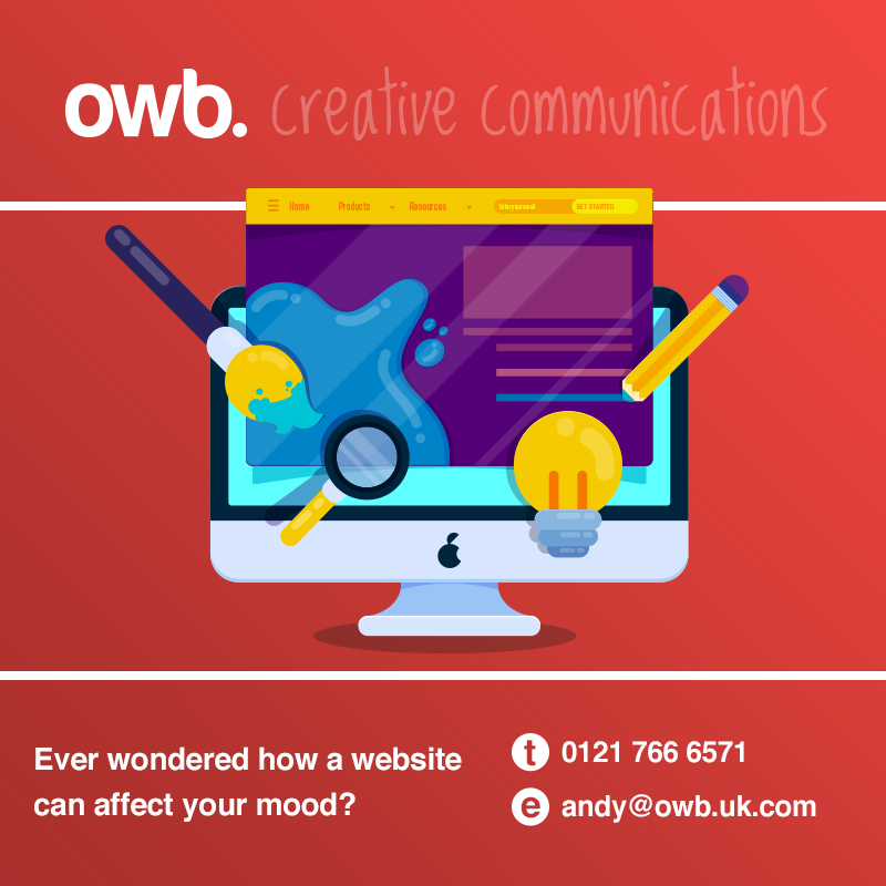 How colours, typefaces and spacing on a website affect your customer's experience?